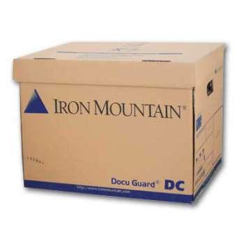 Archivační krabice Iron Mountain - typ DC, 42 x 31 x 32 cm, hnědá