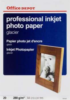 Fotopapír Office Depot, A4, glacier