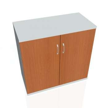 Skříň Hobis STRONG S 2 80 01, třešeň/šedá