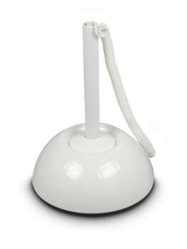 Kuličkové pero se stojánkem ICO Lux, bílé