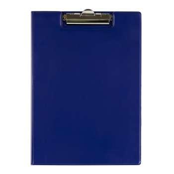 Zavírací desky Office Depot s klipem - A4, modrá