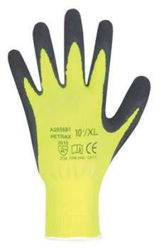Pracovní rukavice máčené PETRAX, vel. 10