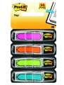 Záložky Post-it, šipky, mix 4 neonových barev