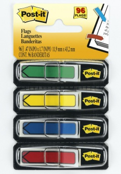 Záložky Post-it šipky