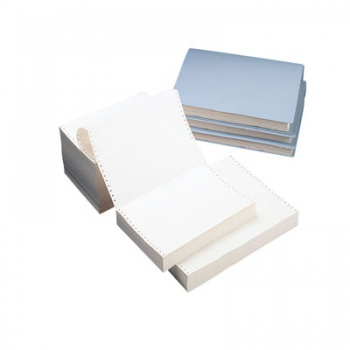 Papír tabelační Niceday, 24cm x 12 palců, 1+0
