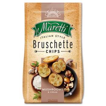 Bruschetta Maretti - houbové se smetanou, 70 g