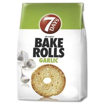 BAKE ROLLS topinky - česnekové, 90 g