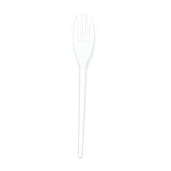 Vidlička - plast, 100 ks