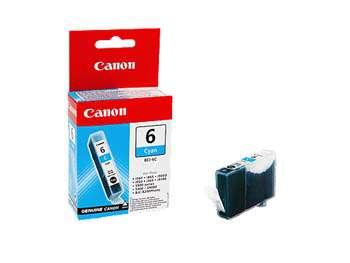 Cartridge Canon BCI-6C - azurová