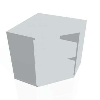 Skříň Hobis STRONG SRV 2, šedá