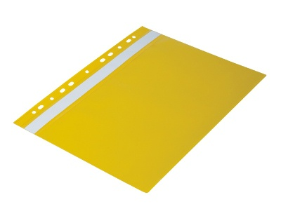 Rychlovazače s europerforací A4, žluté, 20 ks