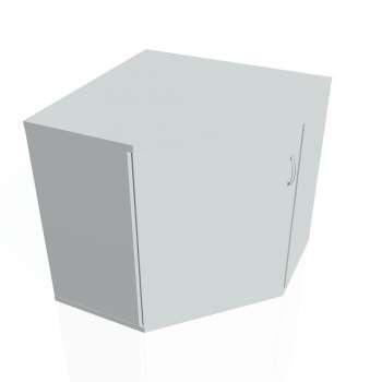 Skříň Hobis STRONG SRV 2 01 levá, šedá/šedá