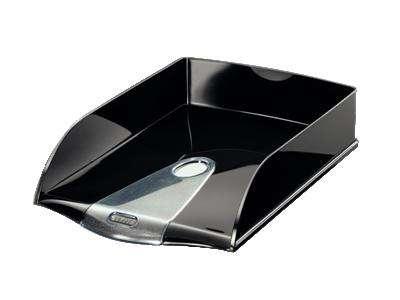 Zásuvka LEITZ Allura - A4+, plastová, černá