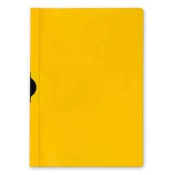 Desky s klipem Niceday 30, A4 žlutá