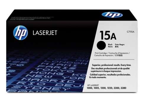 Toner HP C7115A/15A - černá