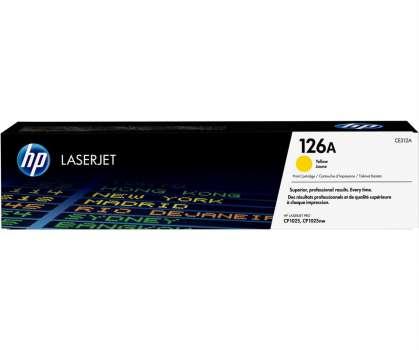 Toner HP CE312A/126A - žlutá
