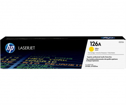Toner HP CE312A/126A - žlutý