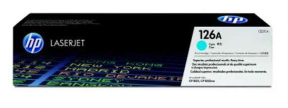 Toner HP CE311A/126A - azurový