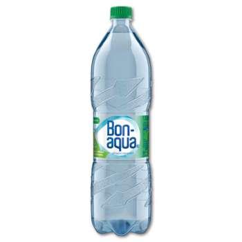 Pramenitá voda Bonaqua - jemně perlivá, 6 x 1,5 l