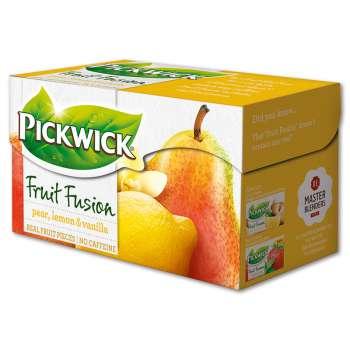 Čaj Pickwick Fruit Garden - Hruška s citronem a vanilkou, 20 x 2 g
