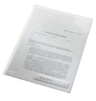 Desky Leitz Combifile pevné závěsné A4, transparentní
