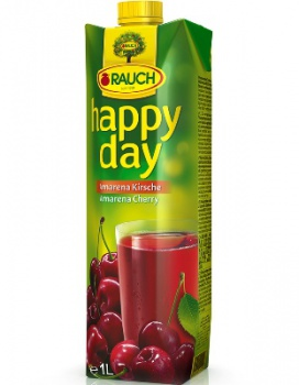Džus HAPPY DAY - višeň, 1 l