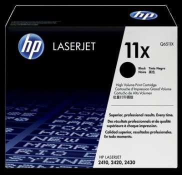 Toner HP Q6511X/11X - černý
