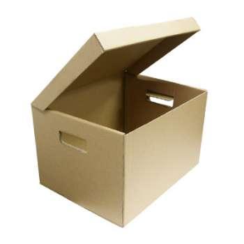 Archivační krabice - 5 ks, rozměr 42,7 x 30,8 x 34,3 cm, hnědá