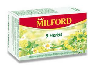 Čaj Milford 9 bylin
