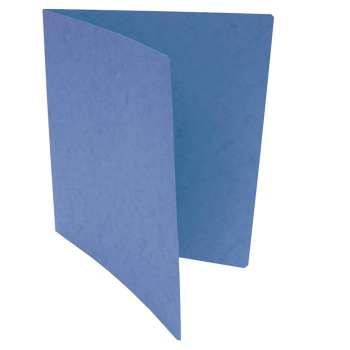 Prešpánové desky bez chlopní - A4, tmavě modrá