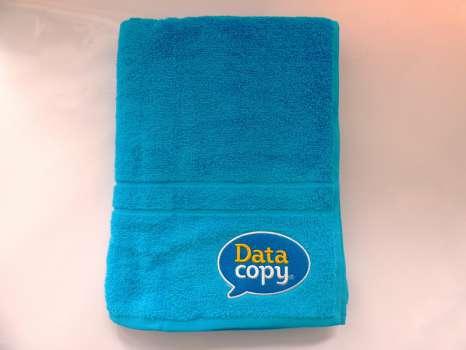 Osuška s logem Data Copy, modrá