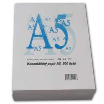 Kancelářský papír - A5, 80 g, 500 archů