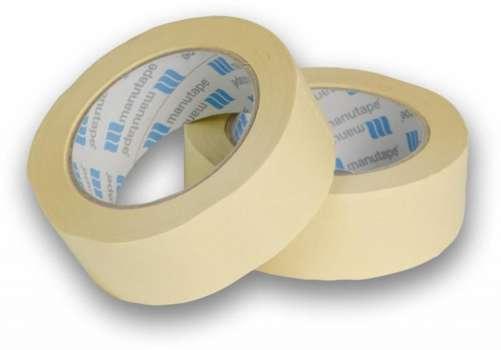 Lepící krepová páska, 25mm x 50m