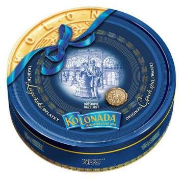 DÁREK: 3 x 175g tradičních oplatek Kolonáda ZDARMA.