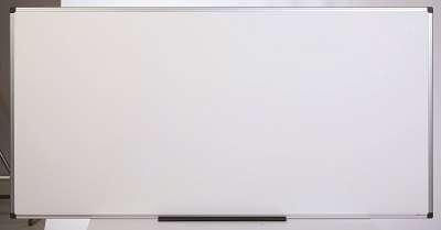 Emailová magnetická tabule - 180 x 90 cm