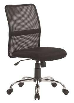 Kancelářská židle Toba - bez područek, černá