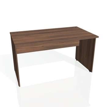 Psací stůl Hobis GATE GS 1400, ořech/ořech
