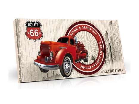DÁREK: Belgická mléčná čokoláda 400g v retro obalu