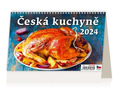 Stolní kalendář 2017 Česká kuchyně