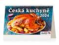 Stolní kalendář Česká kuchyně