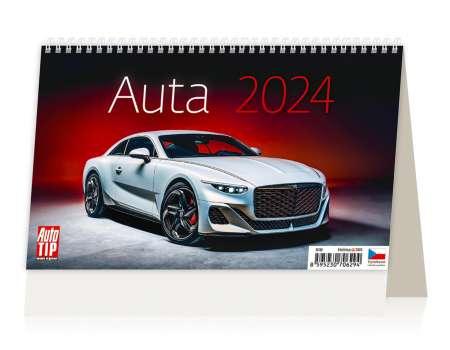 Stolní kalendář 2017 Auta