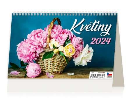 Stolní kalendář 2017 Květiny