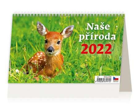 Stolní kalendář 2017 Naše příroda