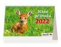 Stolní kalendář 2022 Naše příroda