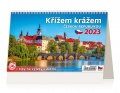 Stolní kalendář 2022 Křížem krážem Českou republik