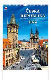 Nástěnný kalendář 2017 Česká republika