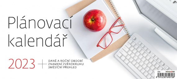 Stolní kalendář 2017 Plánovací kalendář