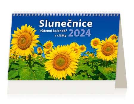 Stolní  kalendář 2018  Slunečnice