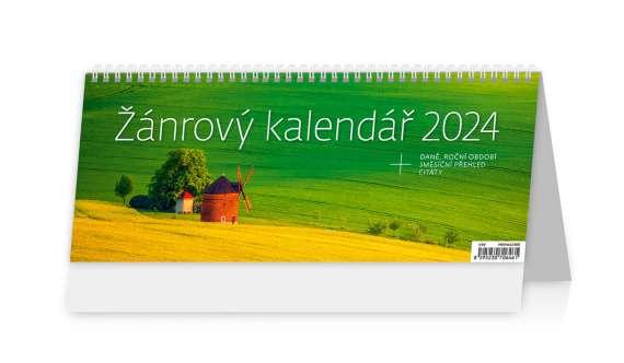 Stolní  kalendář 2018  Žánrový kalendář