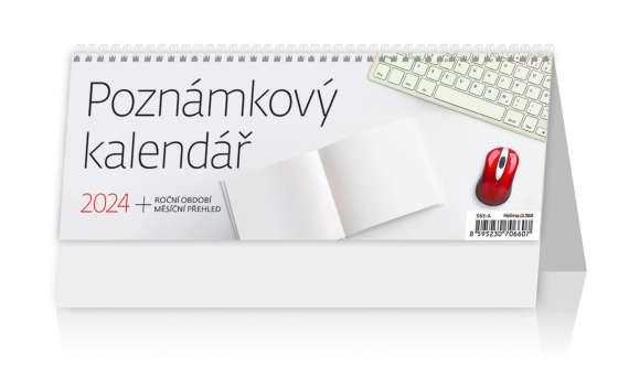 Poznámkový stolní kalendář 2019